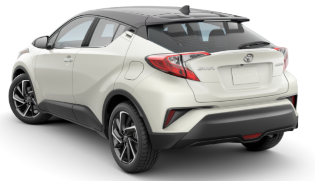 Toyota CHR Back Pic