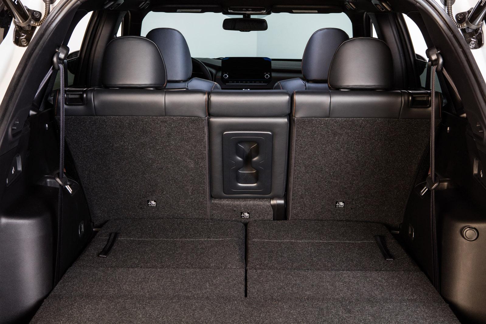 Mitsubishi Outlander Trunk Space