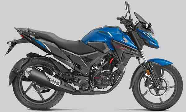 the honda x blade color of it